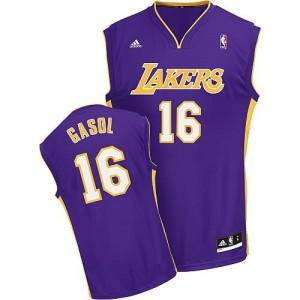 Canotte NBA Rivoluzione 30 Gasol Los Angeles Lakers Porpora