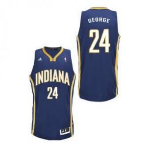 Canotte NBA Rivoluzione 30 George Indiana Pacers Blu