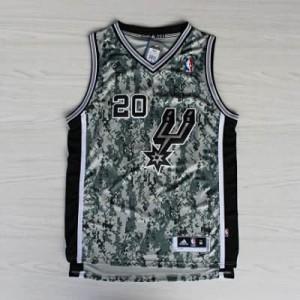Canotte NBA Rivoluzione 30 Ginobili San Antonio Spurs Camouflage