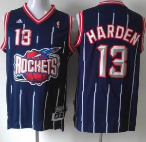Canotte NBA Rivoluzione 30 Harden Houston Rockets Blu