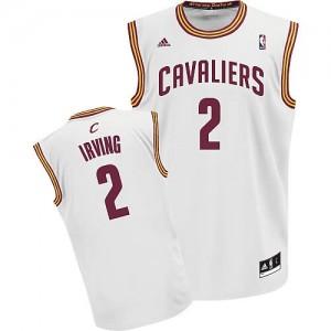 Canotte NBA Rivoluzione 30 Irving Cleveland Cavaliers Bianco