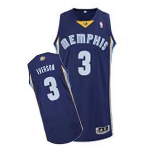 Maglie Basket Iverson Memphis Grizzlies Grizzlies Blu