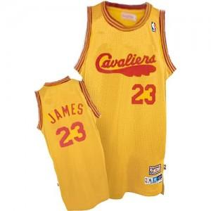 Maglie Basket James Cleveland Cavaliers Arancione