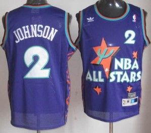 Canotte NBA Johnson All Star 1995 Blu