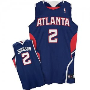 Maglie Basket Johnson Atlanta Hawks Blu