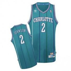 Canotte NBA Rivoluzione 30 Johnson Charlotte Hornets Blu