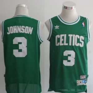 Maglie Basket Johnson Boston Celtics Verde