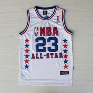 Canotte NBA Jordan All Star 2003 Bianco