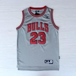 Canotte NBA Rivoluzione 30 Jordan Chicago Bulls Grigio
