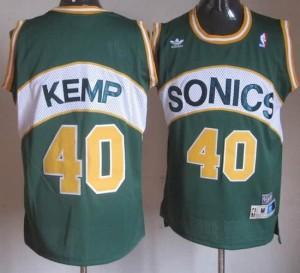 Maglie Basket Kemp Seattle Sonics Verde