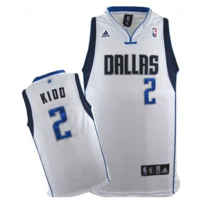 Maglie Basket Kidd Dallas Mavericks Bianco