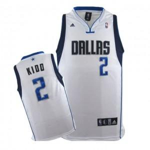 Canotte NBA Rivoluzione 30 Kidd Dallas Mavericks Bianco