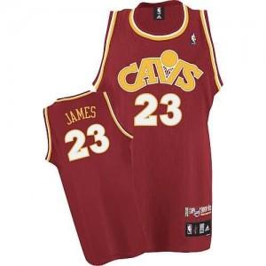 Maglie Basket Lebron James Cleveland Cavaliers Rosso