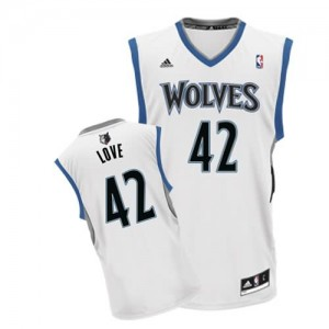Canotte NBA Rivoluzione 30 Love Minnesota Timberwolves Bianco