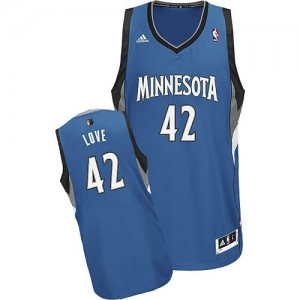 Canotte NBA Rivoluzione 30 Love Minnesota Timberwolves Blu