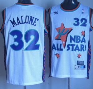 Canotte NBA Malone All Star 1995 Bianco