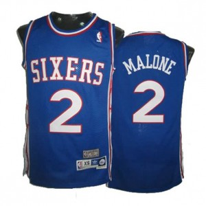 Maglie Basket Malone Philadelphia 76ers Blu