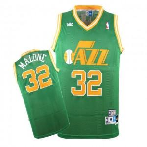 Maglie Basket Malone Utah Jazz Verde