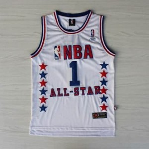 Canotte NBA McGrady All Star 2003 Bianco