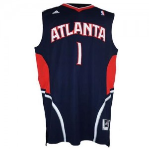 Canotte NBA Rivoluzione 30 McGrady Atlanta Hawks Blu