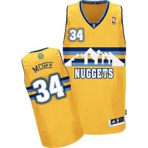 Canotte NBA Rivoluzione 30 Mcgee Denver Nuggets Giallo