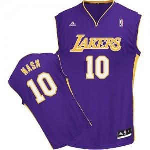 Canotte NBA Rivoluzione 30 Nash Los Angeles Lakers Porpora