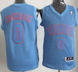 Canotte Basket Natale 2012 Westbrook Blu