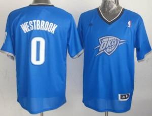 Canotte Basket Natale 2013 Westbrook Blu