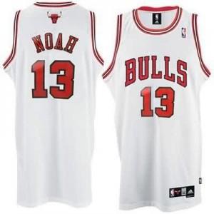 Maglie Basket Noah Chicago Bulls Bianco
