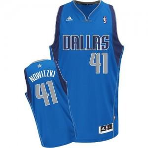 Maglie Basket Nowitzki Dallas Mavericks Blu