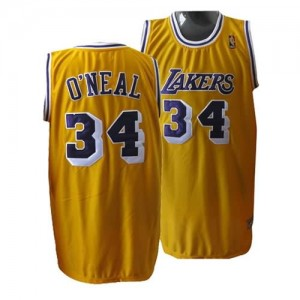 Maglie Basket O neal Los Angeles Lakers Giallo