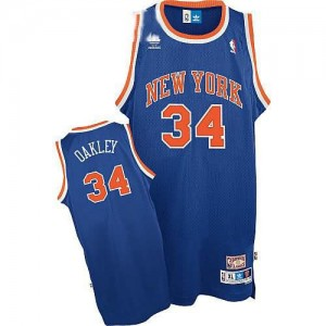 Maglie Basket Oakley New York Knicks Blu
