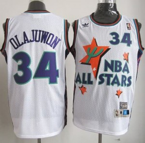 Canotte NBA Olajuwon All Star 1995 Bianco