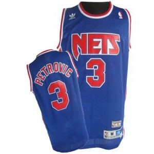 Maglie Basket Petrovic Brooklyn Nets Blu