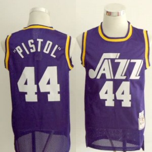 Maglie Basket Pistol Utah Jazz Porpora