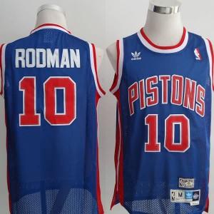 Maglie Basket Rodman Detroit Pistons Blu