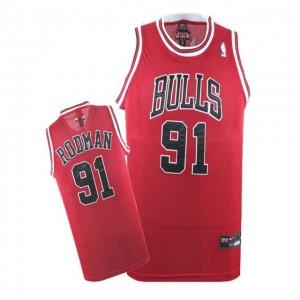 Maglie Basket Rodman Chicago Bulls Rosso