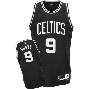 Maglie Basket Rondo Boston Celtics Nero