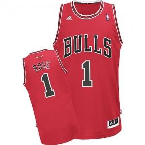 Canotte NBA Rivoluzione 30 Rose Chicago Bulls Rosso