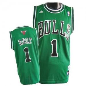 Canotte NBA Rivoluzione 30 Rose Chicago Bulls Verde