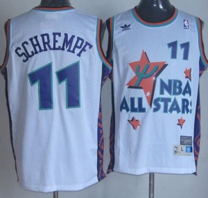 Canotte NBA Schrempf All Star 1995 Bianco