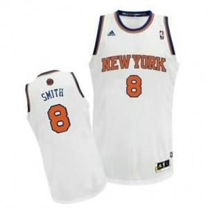 Canotte NBA Rivoluzione 30 Smith New York Knicks Bianco