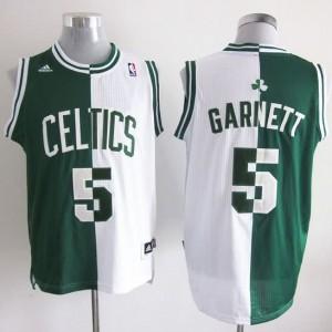 Canotte NBA Split Garnett Verde Bianco