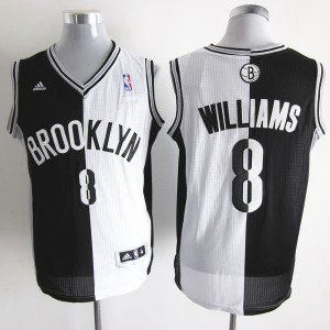 Canotte NBA Split Williams Nero Bianco