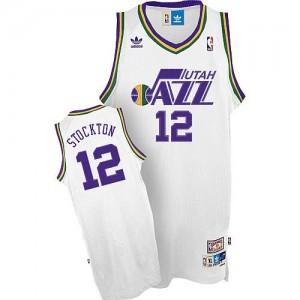 Maglie Basket Stockton Utah Jazz Bianco