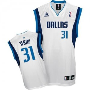 Maglie Basket Terry Dallas Mavericks Bianco