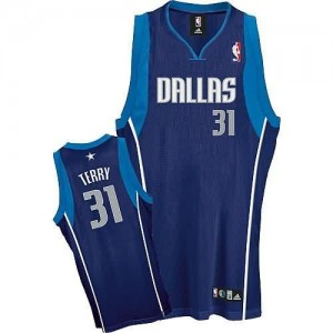 Maglie Basket Terry Dallas Mavericks Blu