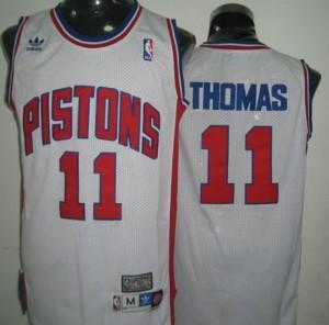 Maglie Basket Thomas Detroit Pistons Bianco