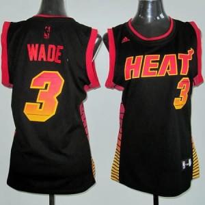 Italia Maglie Donna Wade Miami Heats Nero2