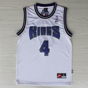 Maglie Basket Webber Sacramento Kings Bianco